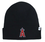 Anaheim Angels Beanie 47 Brand Embroidered Ski Cap Black
