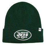 New York Jets Beanie 47 Brand Knit Fold Green
