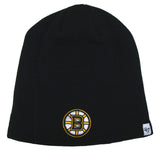 Boston Bruins Beanie 47 Brand Embroidered Skull Cap Black