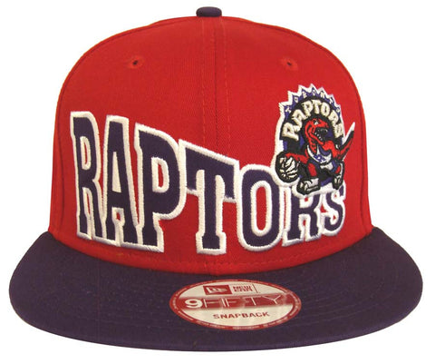 Toronto Raptors Snapback New Era Retro Stocked Cap Hat