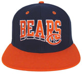 Chicago Bears Snapback Retro Cap Hat Script
