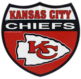 Kansas City Chiefs Bar Home Decor Plastic Stop Sign