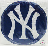 New York Yankees Decal 8'' Perforated