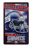 New York Giants Bar and Home Decor Property of Sign