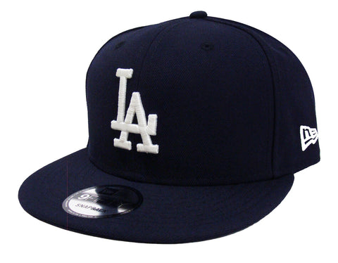 Los Angeles Dodgers Snapback Navy New Era 9Fifty Cap Hat WL