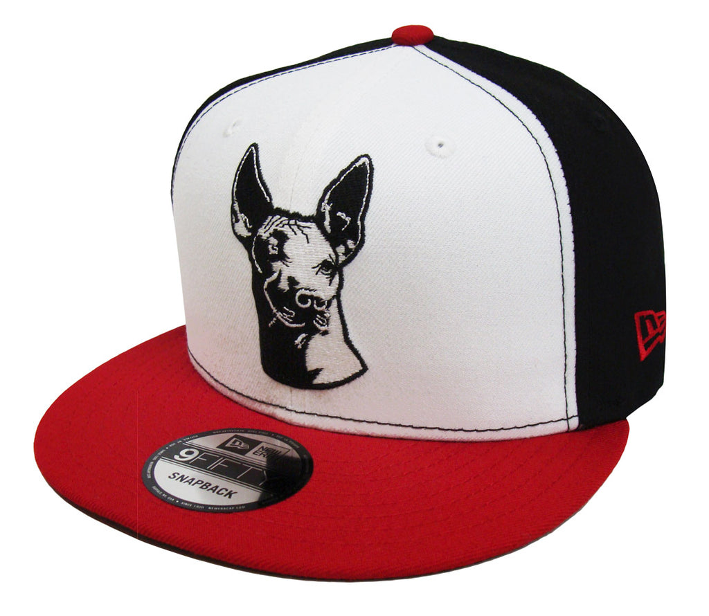 Xolos de Tijuana Snapback New Era 9Fifty Cap Hat Black White Red – THE 4TH  QUARTER fd2cbd93add