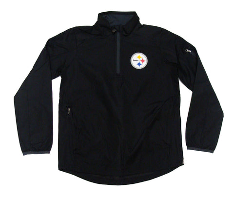 Pittsburgh Steelers Youth 1/4 Zip Windbreaker Jacket