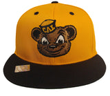 Cal Golden Bears Snapback Bear Logo Cap Hat Yellow Navy
