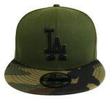 Los Angeles Dodgers Snapback New Era 9FIFTY Green Camo Cap Hat