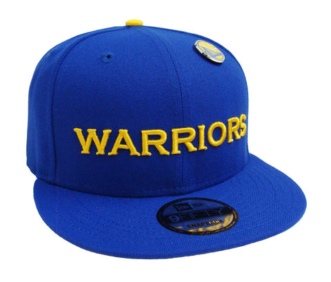 Golden State Warriors Snapback New Era 9Fifty Pinned Blue
