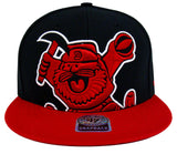 Denver Nuggets Snapback 2 Tone Blackout Colossal Retro 47 Cap Hat