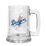 Los Angeles Dodgers 15oz Glass Tankard Mug
