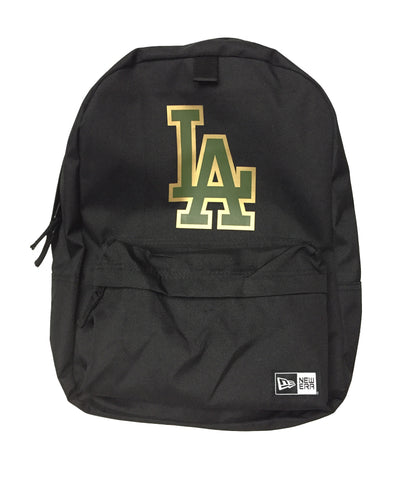 Los Angeles Dodgers New Era Armed Forces Backpack Black