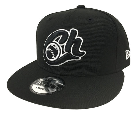 Charros De Jalisco Snapback New Era Mexican Baseball League Hat Cap Black White