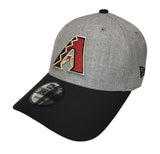 Arizona Diamondbacks Velcro New Era 9Forty Adjustable The League Heather Cap Hat