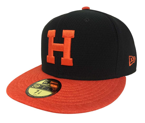 Naranjeros De Hermosillo Fitted New Era 59Fifty Shadow Black Hat Cap