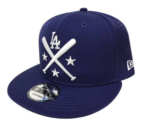 Los Angeles Dodgers Snapback New Era 9Fifty All-Star Workout Blue Cap Hat