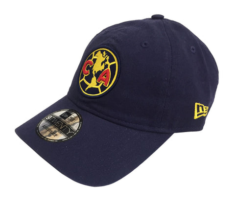 Club America Strapback New Era 9Forty Logo Navy Hat Cap