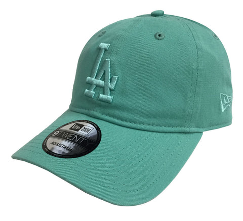 efb447032edc9 Los Angeles Dodgers Strapback New Era 9Twenty Adjustable Teal Cap Hat
