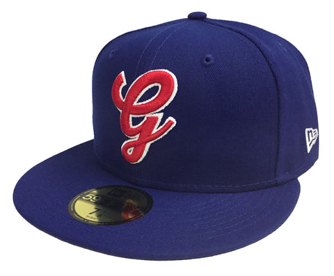 Generales de Durango Fitted Team Logo Mexican Baseball League New Era 59Fifty Blue Hat Cap