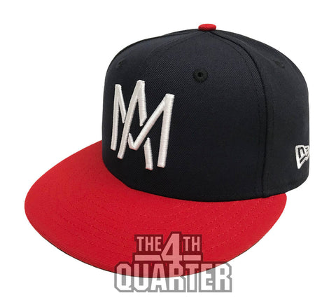 Aguilas de Mexicali Fitted LMP New Era 59Fifty Navy Red Hat Cap