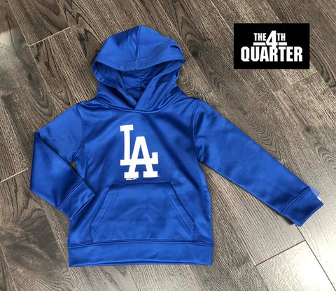 Los Angeles Dodgers Kids (4-7) LA Logo Pullover Hooded Sweatshirt