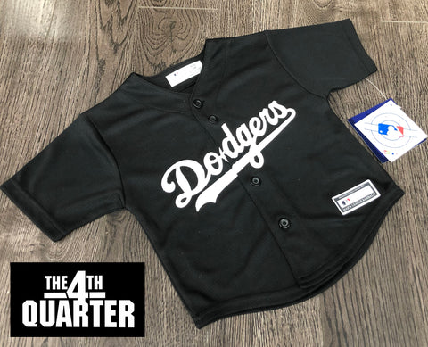 Los Angeles Dodgers Infant 12-24 Months Jersey Majestic Replica Cool Base Black White