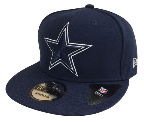 Dallas Cowboys Snapback New Era 9Fifty Tri-blend Navy
