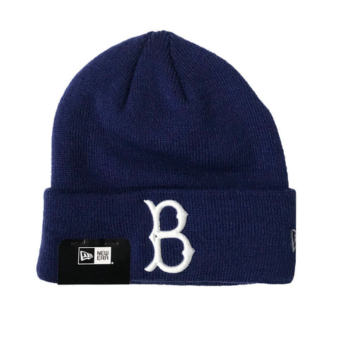 Brooklyn Dodgers Beanie New Era Basic Knit Fold Blue