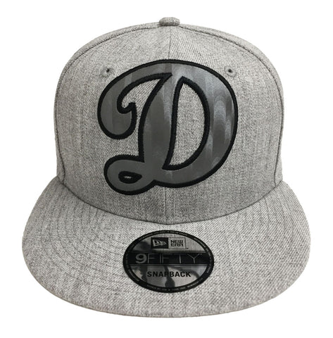 Los Angeles Dodgers Snapback New Era XL Silked Big D Cap Hat Wool