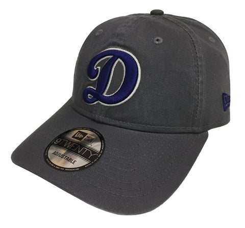 Los Angeles Dodgers Strapback Adjustable New Era 9Twenty D Dark Grey Cap Hat