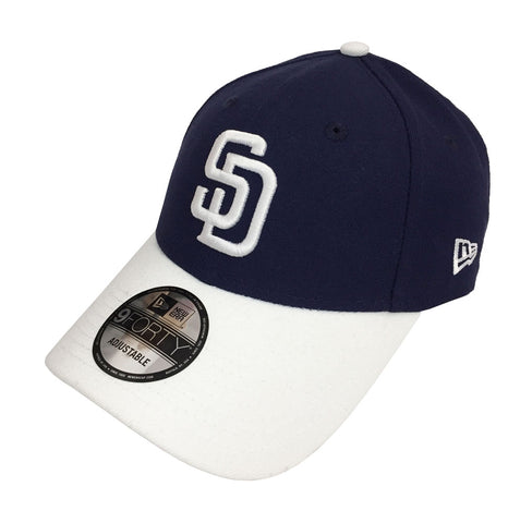 newest db72b f1a27 San Diego Padres Velcro New Era 9Forty Adjustable The League 2 Tone Cap Hat