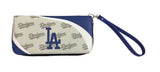 Los Angeles Dodgers Womens Wallet Curve Zip Organizer