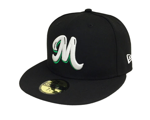 Mexico Fitted New Era 59Fifty Serie Del Caribe Black Cap Hat
