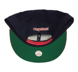Cleveland Indians Snapback New Era 9Fifty XL Logo Navy Red Cap Hat