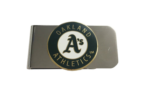 Oakland Athletics Steel Logo Money Clip