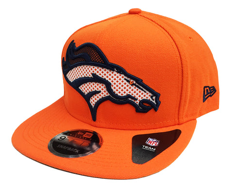 Denver Broncos Snapback New Era Meshed Mix Cap Hat Orange