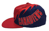 Montreal Canadiens Snapback Vintage Retro Cap Hat Red Blue