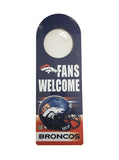 Denver Broncos Door Hanger Sign