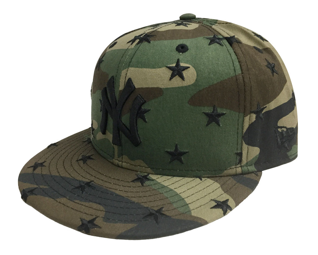 differently ce586 90521 New York Yankees Snapback Star Scatter New Era 9FIFTY Camo Cap Hat – THE  4TH QUARTER