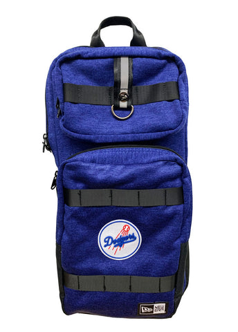 Los Angeles Dodgers Backpack New Era Clubhouse Slim Pack Blue