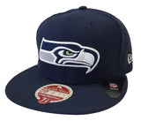 Seattle Seahawks Fitted New Era 59Fifty Heritage Classic Cap Hat Navy