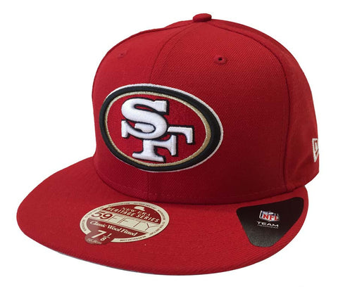 San Francisco 49ers Fitted New Era Heritage Classic Cap Hat Red
