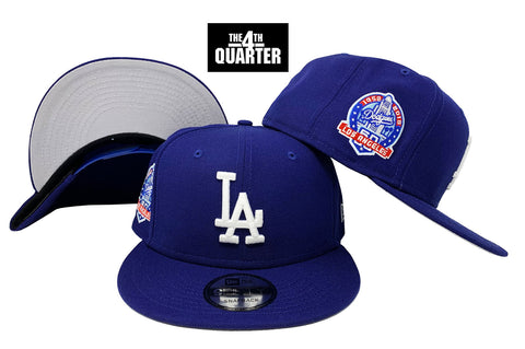 Los Angeles Dodgers Snapback New Era 9Fifty 60th Anniversary Blue Hat Cap