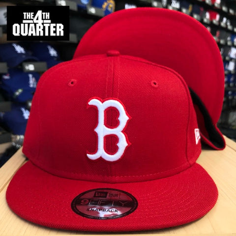 Boston Red Sox Snapback New Era 9Fifty Red Cap Hat