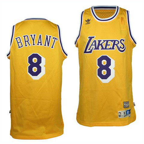 Los Angeles Lakers Mens Jersey Adidas #8 Kobe Bryant Swingman Jersey