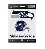 Seattle Seahawks Sticker Triple Spirit Pack