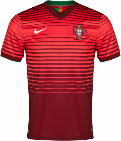 Portugal Mens Jersey 2014 World Cup Home Red