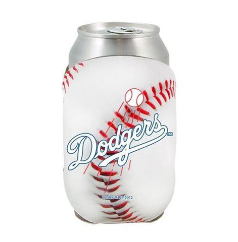 Los Angeles Dodgers Can Cooler Holder Baseball White