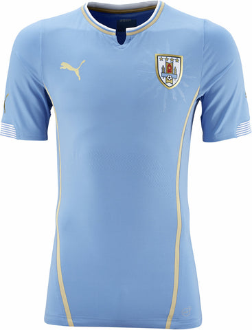 Uruguay Jersey 2014 World Cup Puma Blue